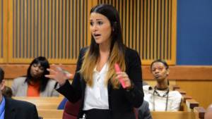 Andi Dorfman in Court