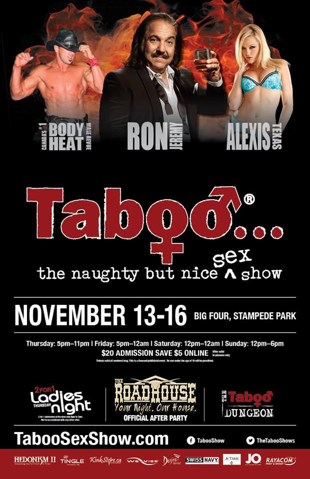 Taboo Calgary - Taboo Naughty But Nice Sex Show
