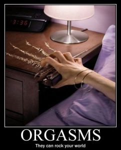 An Orgasm a Day can ROCK your WORLD